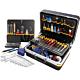 Bernstein 6600. Набор инструментов TELECOM в чемодане PROTECTION XL (115 предметов)