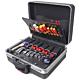 Bernstein 6600 R. Набор инструментов TELECOM в чемодане PROTECTION XL на колёсах (115 предметов)