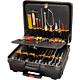 Bernstein 7200. Набор инструментов COMPACT MOBIL (панель 7030, 7040, 7050) в чемодане PROTECTION XL на колёсах (31 предмет)