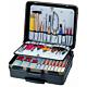 Bernstein 7300. Набор инструментов COMPACT MOBIL (панель 7040, 7050, 7060) в чемодане PROTECTION XL на колёсах (31 предмет)