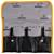 Набор кусачек и бокорезов Bernstein 3-930 BlackLine из 3 предметов в чехле